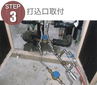 STEP3 打ち込み口取付